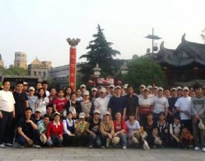 杭州宋城合影